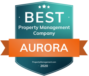 Best Property Management Company Aurora Award